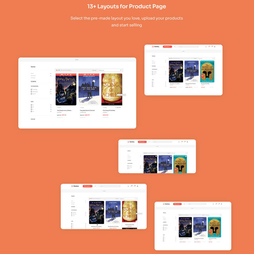 theme - Kultura & Sztuka - Leo Bookery -  Online Book Store - 13