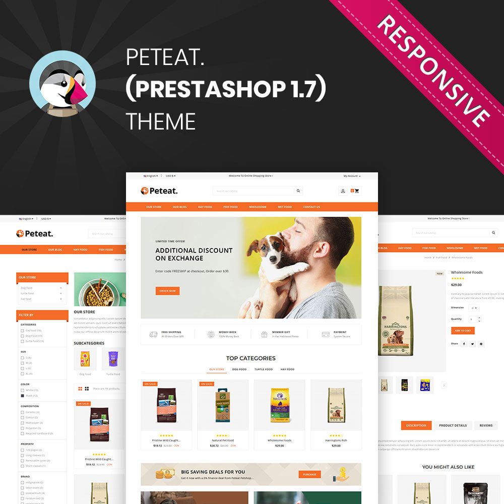 theme - Animales y Mascotas - Peteat - La tienda de mascotas - 2