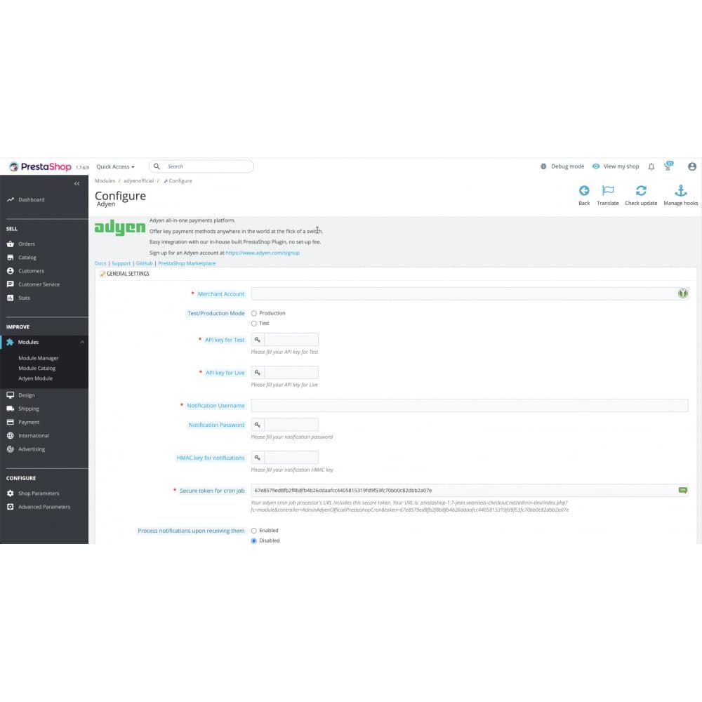 module - Процесс заказа - Adyen - The payments platform built for growth - 3