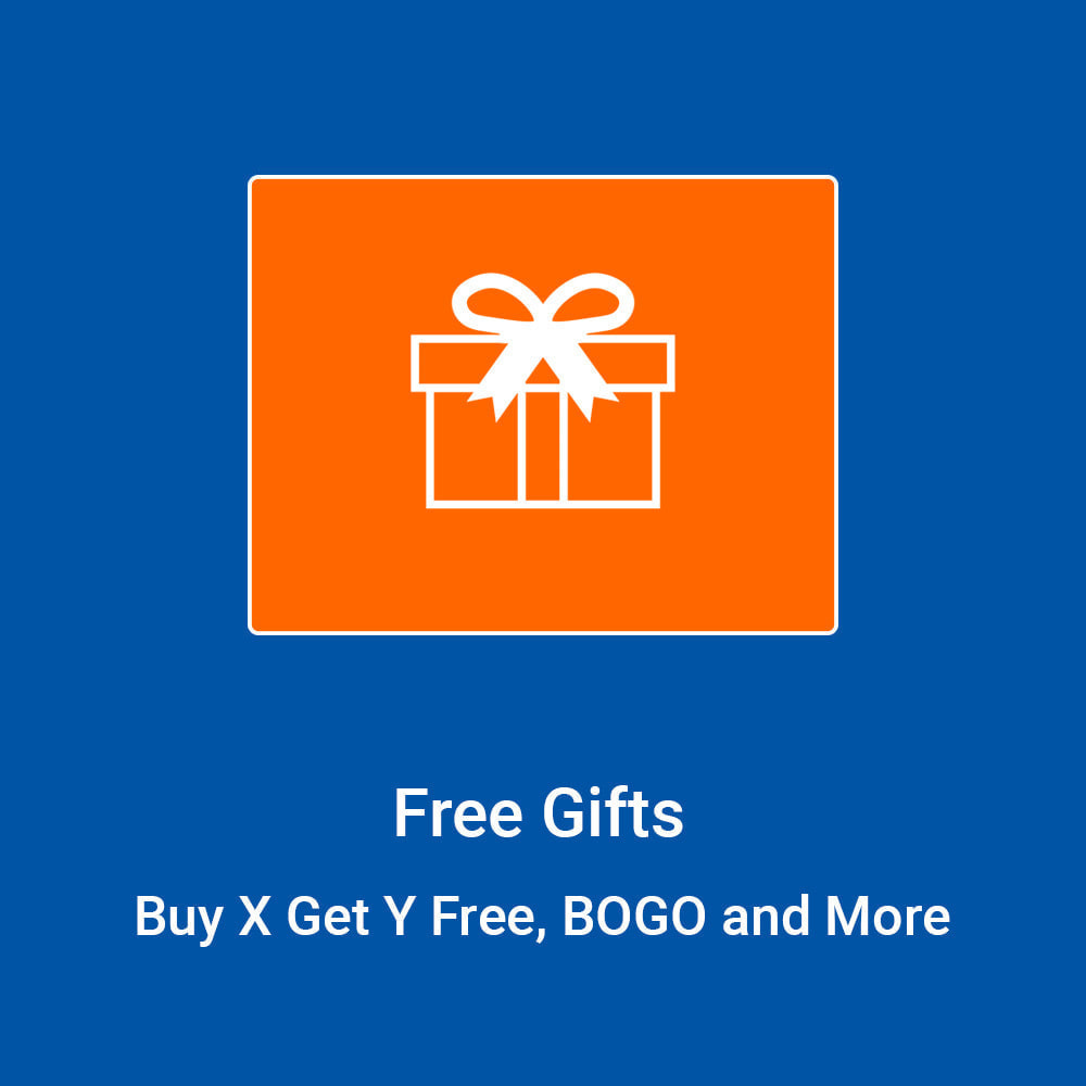 module - Promotions & Gifts - Free Gifts - Buy X Get Y, BOGO and More - 1