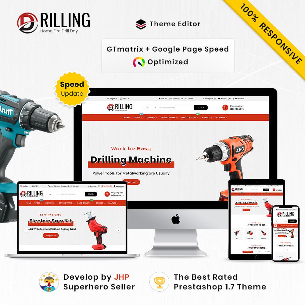 theme - Auto & Moto - Drilling Mega SparePart–Car and Machine–Tools Store - 1