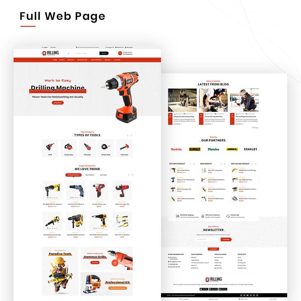 theme - Auto & Moto - Drilling Mega SparePart–Car and Machine–Tools Store - 2