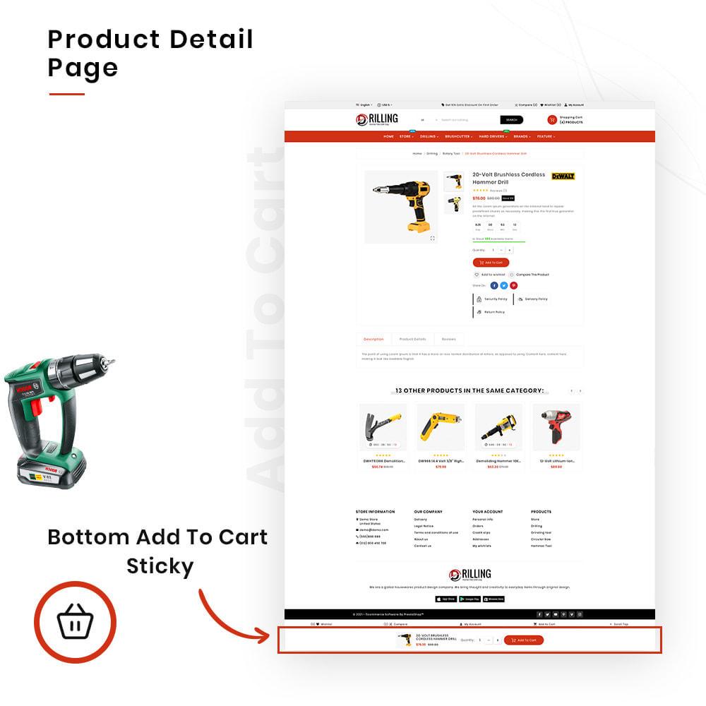 theme - Auto & Moto - Drilling Mega SparePart–Car and Machine–Tools Store - 4