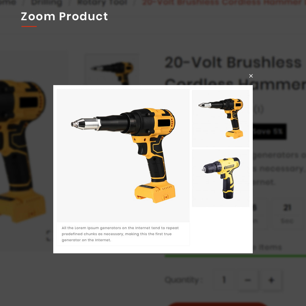 theme - Auto & Moto - Drilling Mega SparePart–Car and Machine–Tools Store - 8