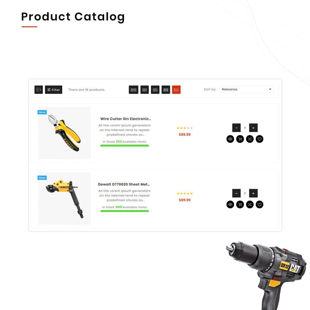 theme - Auto & Moto - Drilling Mega SparePart–Car and Machine–Tools Store - 12