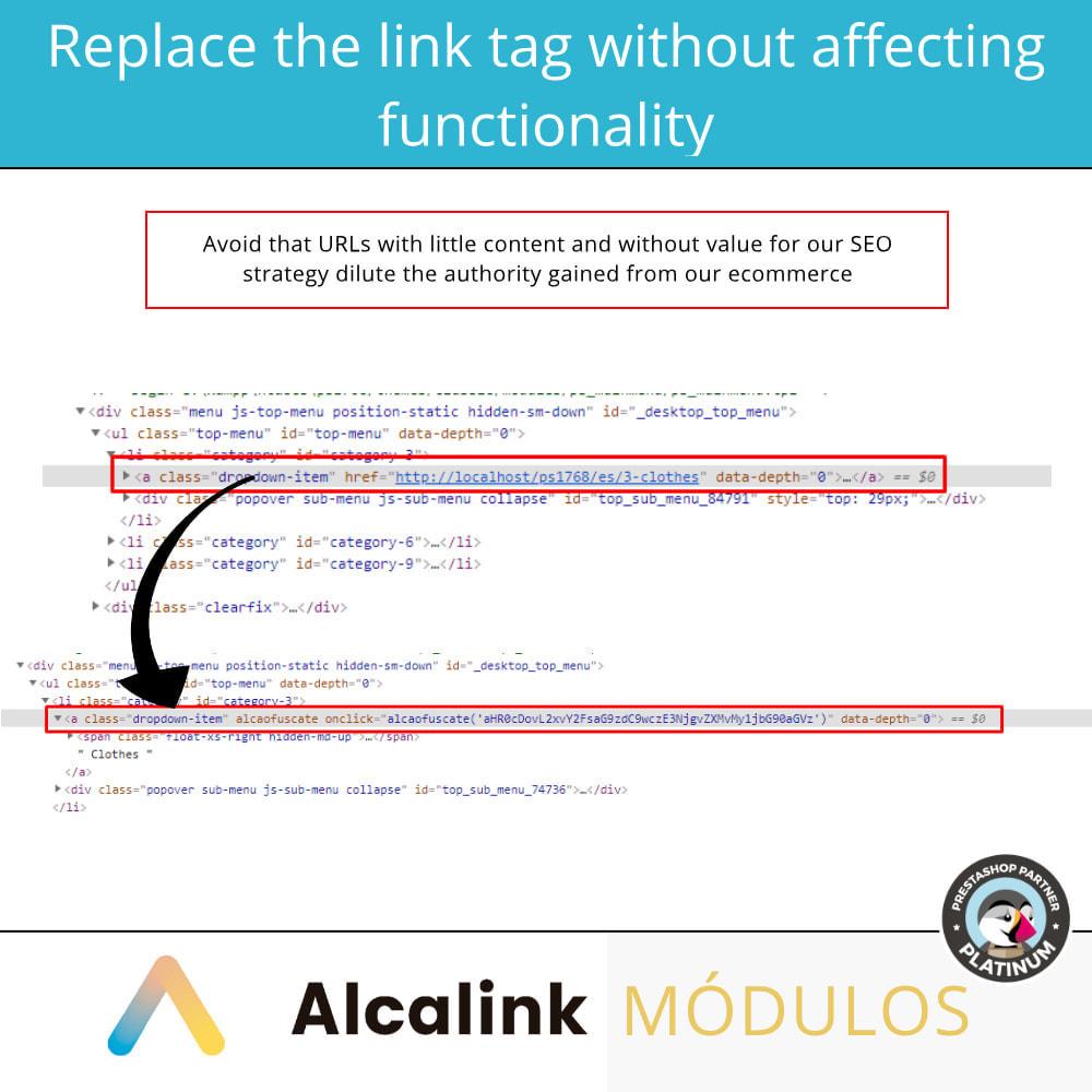 module - SEO (Pozycjonowanie naturalne) - Obfuscate links - 3