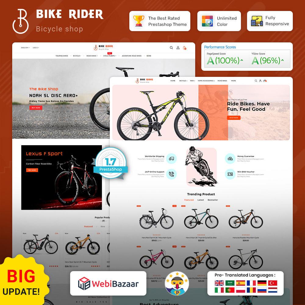 theme - Sport, Activiteiten & Reizen - Bike Ryder - Bike Shop & Bicycle Rental Shop - 1