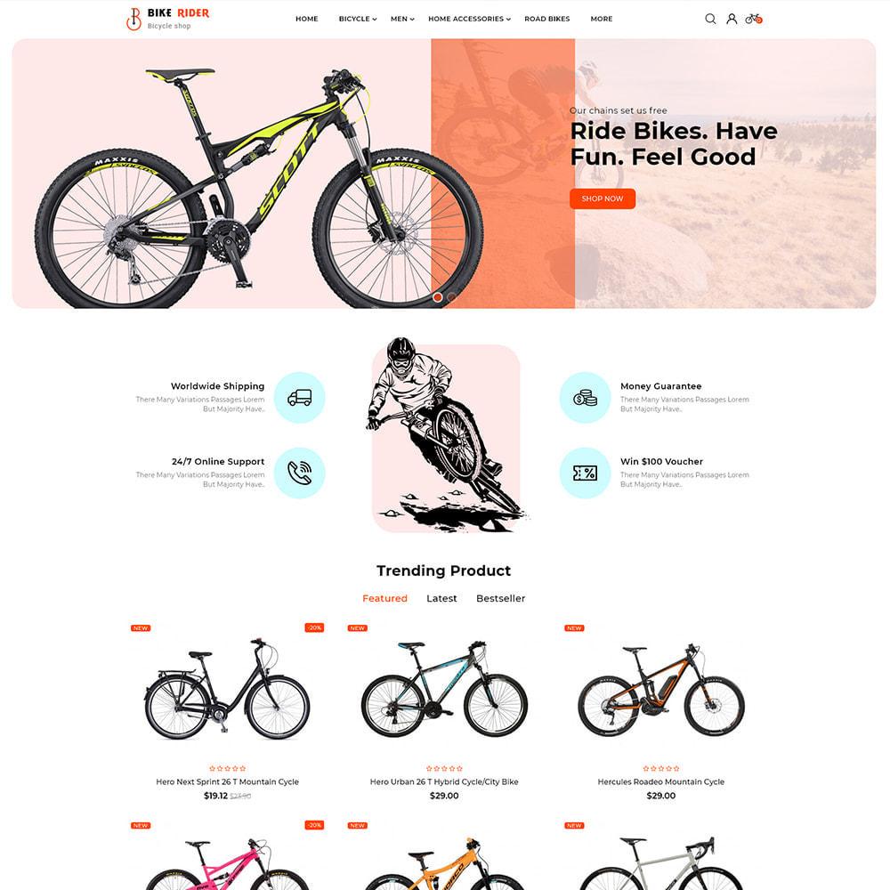 theme - Sport, Activiteiten & Reizen - Bike Ryder - Bike Shop & Bicycle Rental Shop - 2