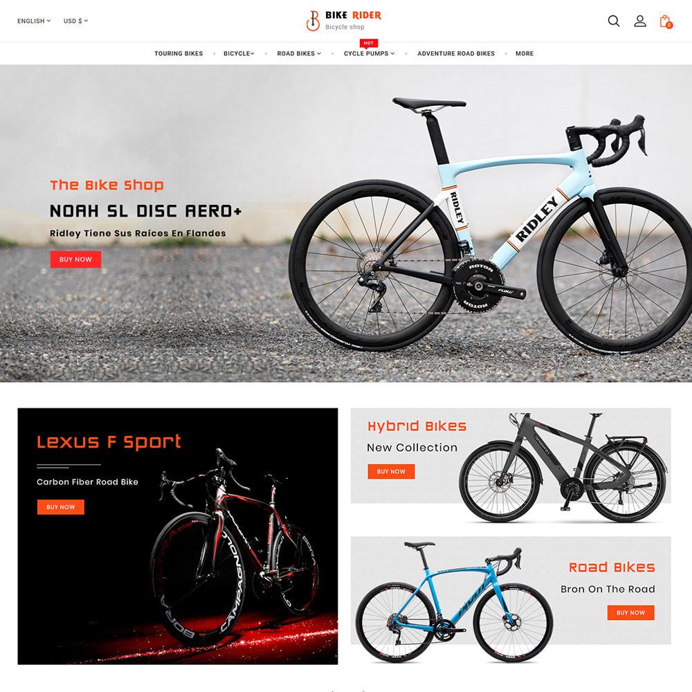 theme - Sport, Activiteiten & Reizen - Bike Ryder - Bike Shop & Bicycle Rental Shop - 3