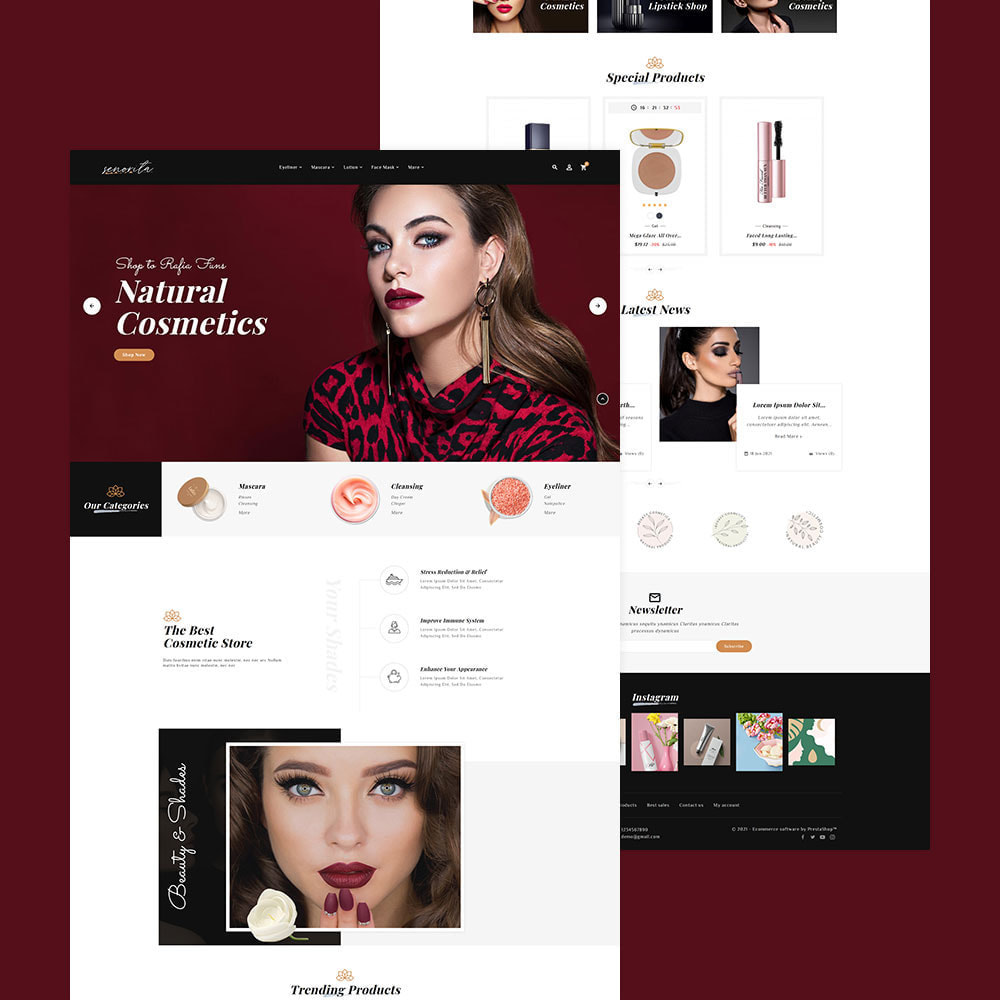 theme - Saúde & Beleza - Senorita - Beauty & Cosmetics - 3