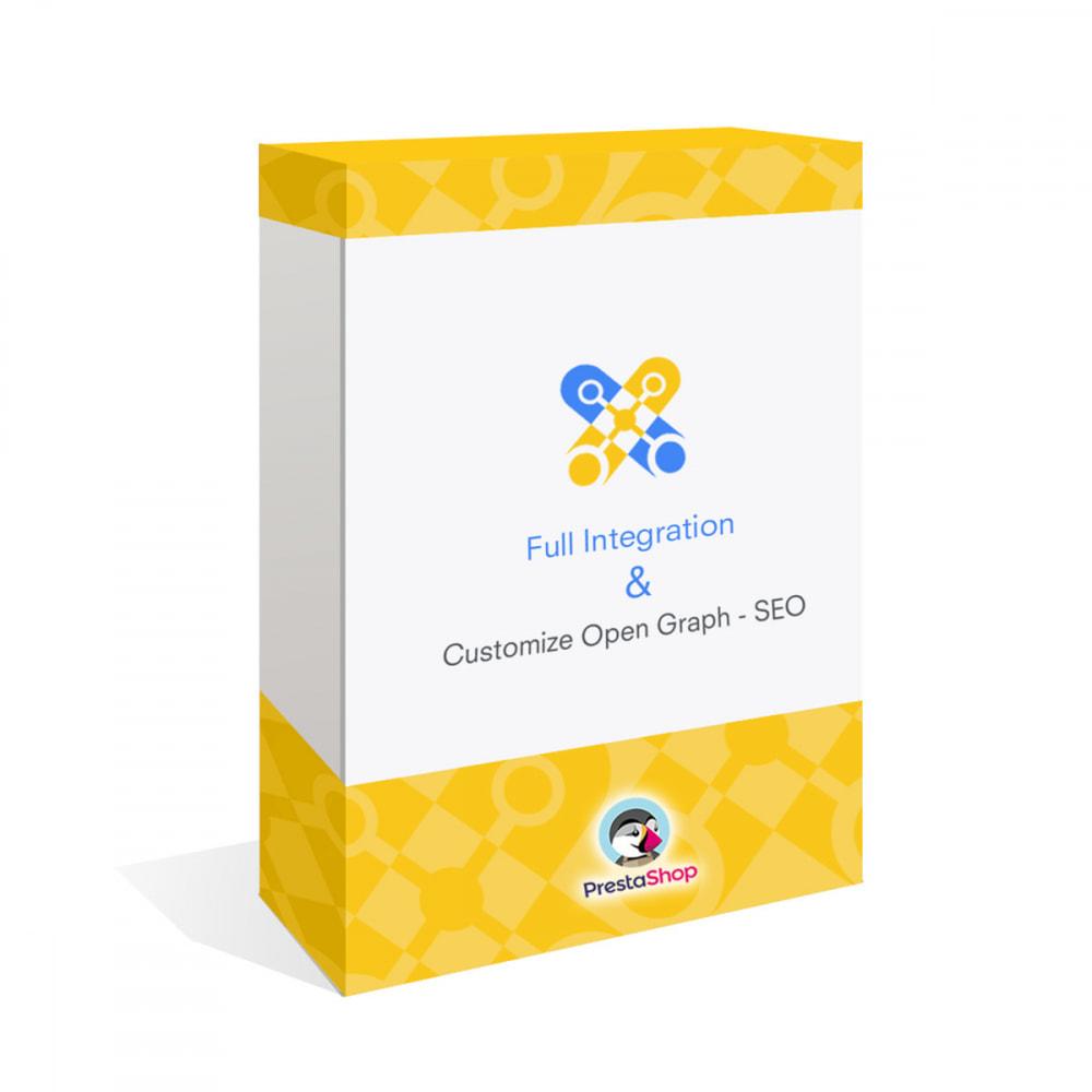 module - SEO (Indicizzazione naturale) - Integrazione completa e personalizzazione di Open Graph - 1