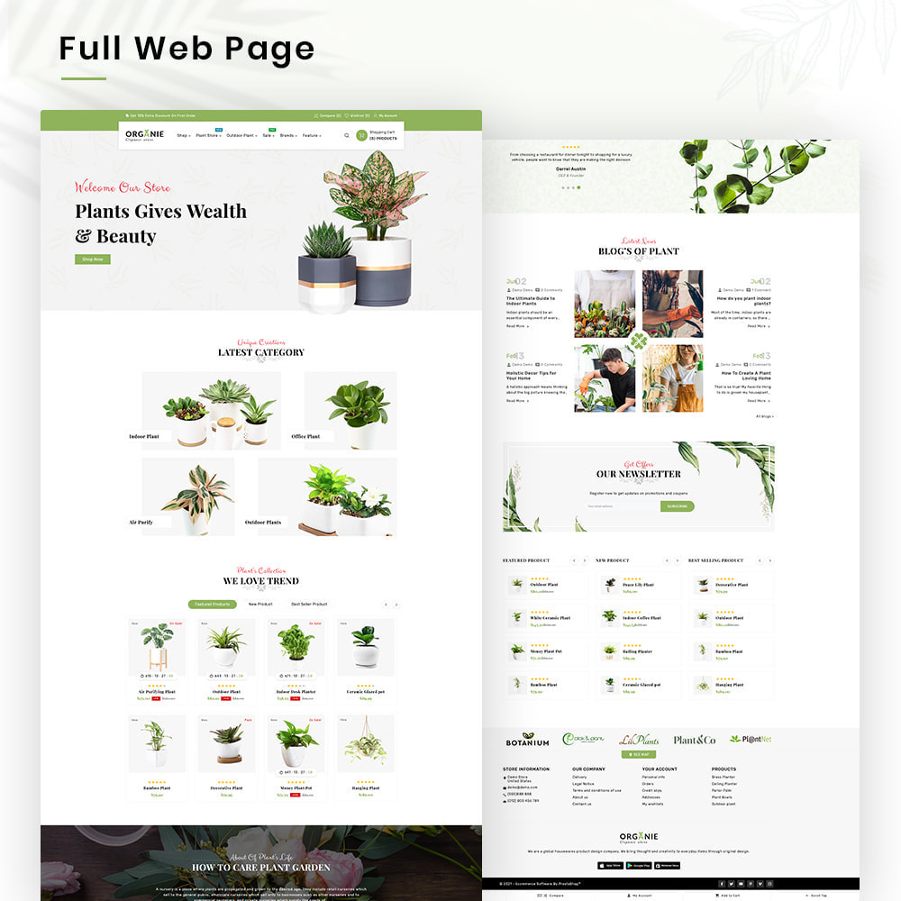 theme - Huis & Buitenleven - Organe Organic–Plant and Craft–Tools Store - 2