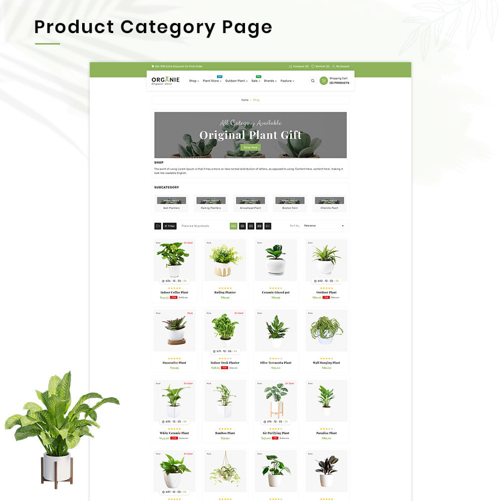 theme - Huis & Buitenleven - Organe Organic–Plant and Craft–Tools Store - 3