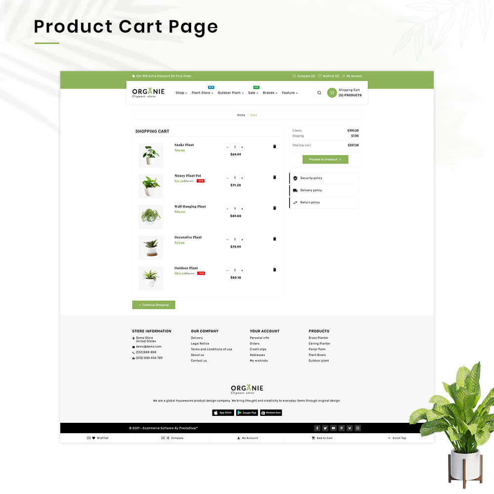 theme - Huis & Buitenleven - Organe Organic–Plant and Craft–Tools Store - 5