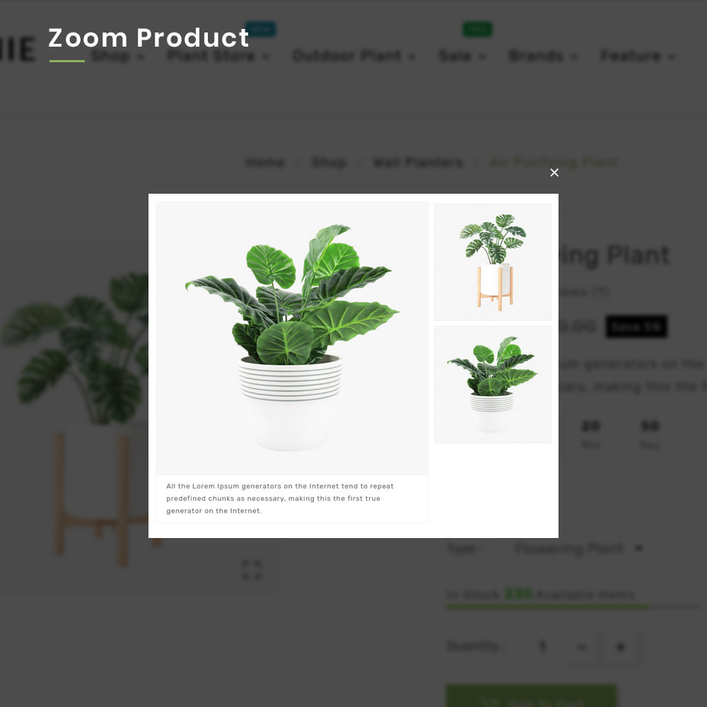 theme - Huis & Buitenleven - Organe Organic–Plant and Craft–Tools Store - 8
