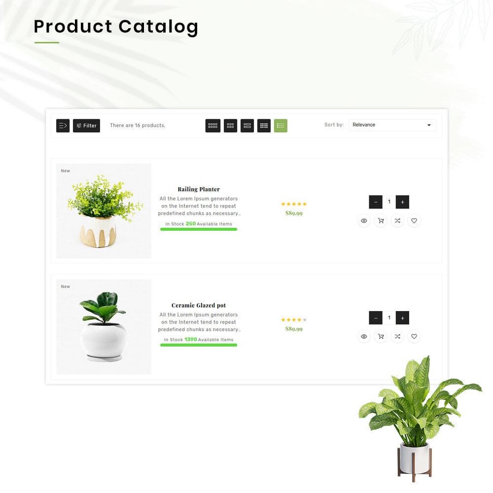 theme - Huis & Buitenleven - Organe Organic–Plant and Craft–Tools Store - 12