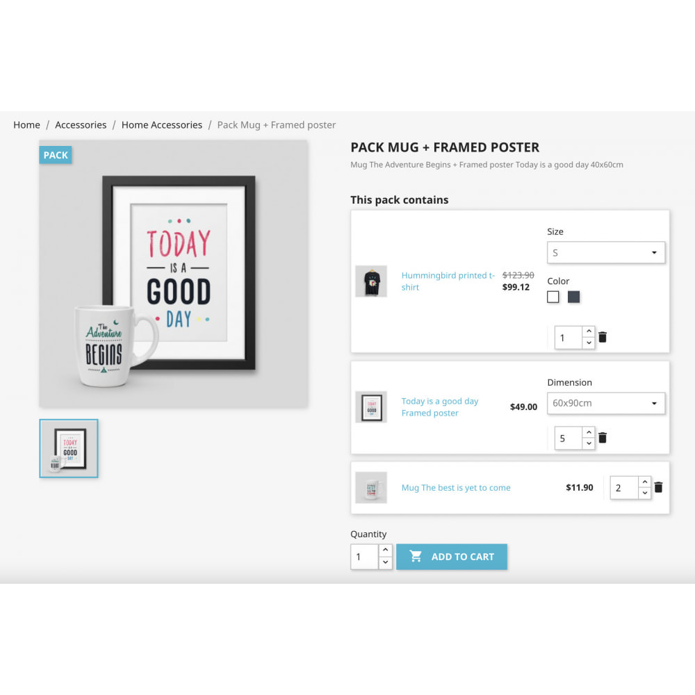 module - Bundels & Personalisierung - Product Bundle Pack|Add multiple products into the cart - 7