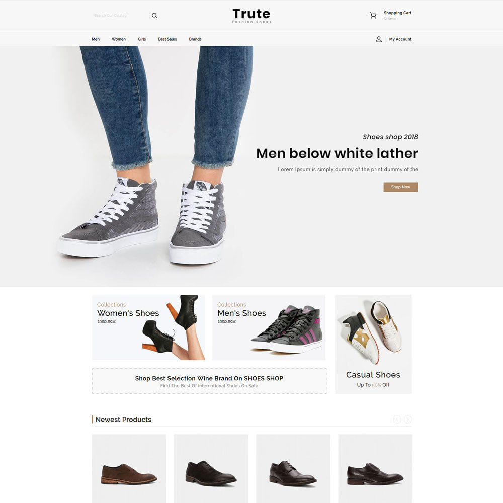 theme - Moda & Calçados - Trute - Shoes Store - 2