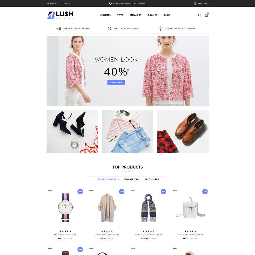 theme - Moda & Calçados - Blush - Fashion Store - 1