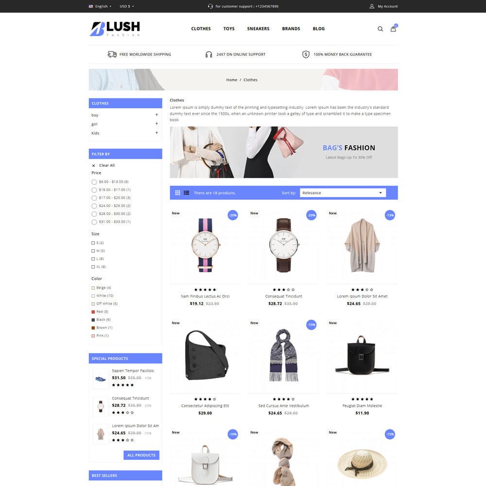 theme - Moda & Calçados - Blush - Fashion Store - 3