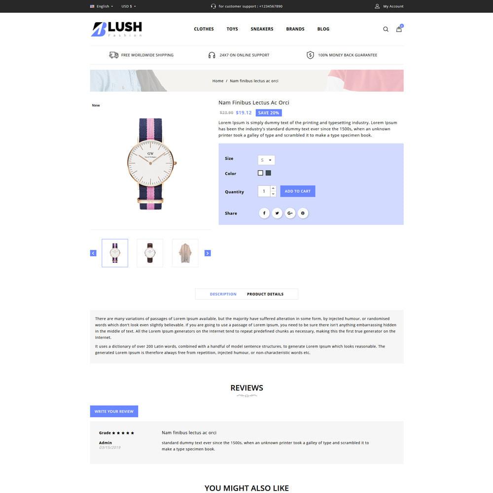 theme - Moda & Calçados - Blush - Fashion Store - 4