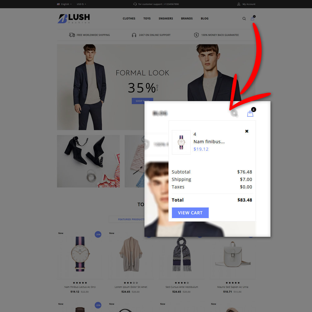 theme - Moda & Calçados - Blush - Fashion Store - 5