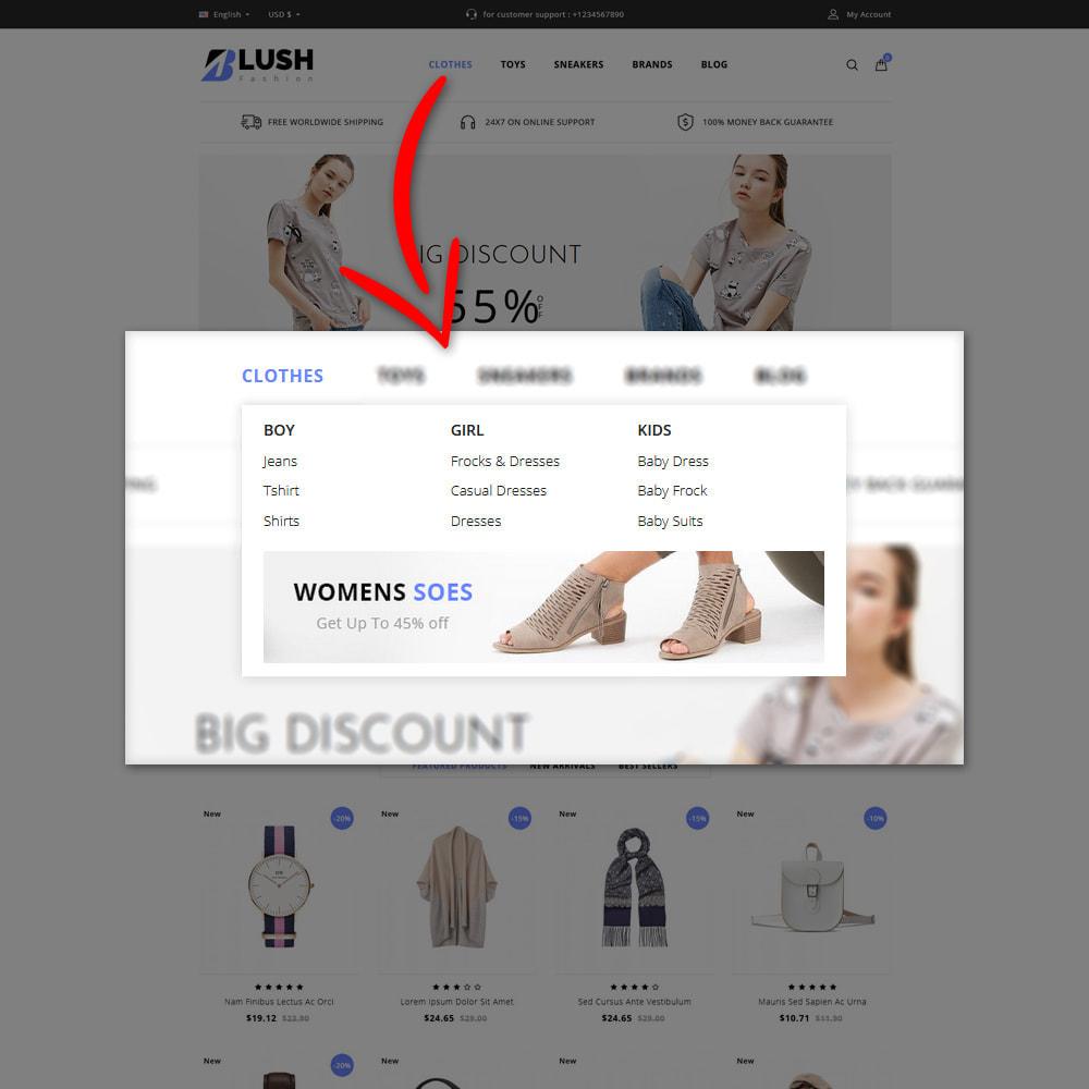 theme - Moda & Calçados - Blush - Fashion Store - 7