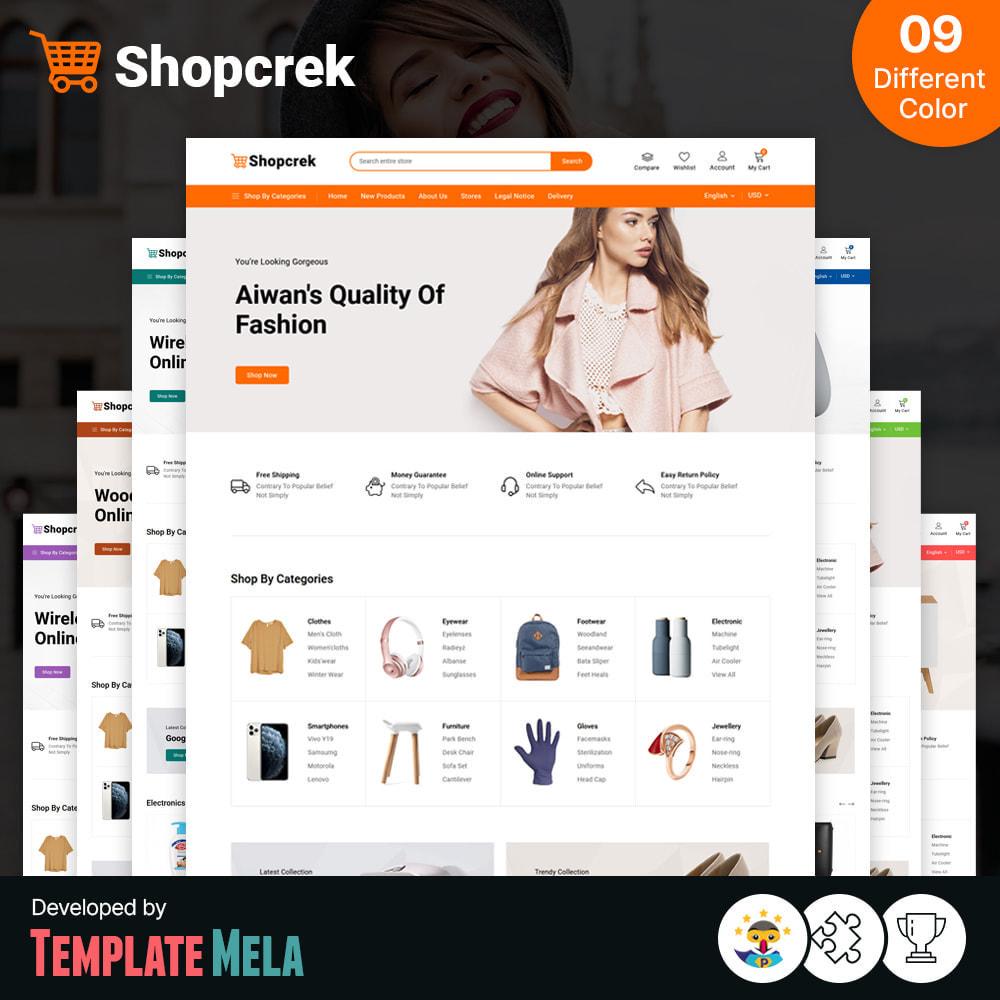 theme - Electronique & High Tech - Shopcrek Mega Store - 1