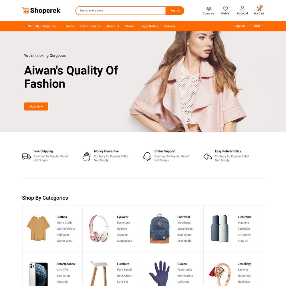 theme - Electronique & High Tech - Shopcrek Mega Store - 2