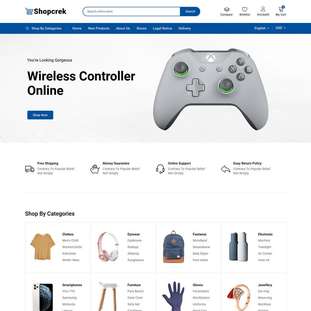 theme - Electronique & High Tech - Shopcrek Mega Store - 3