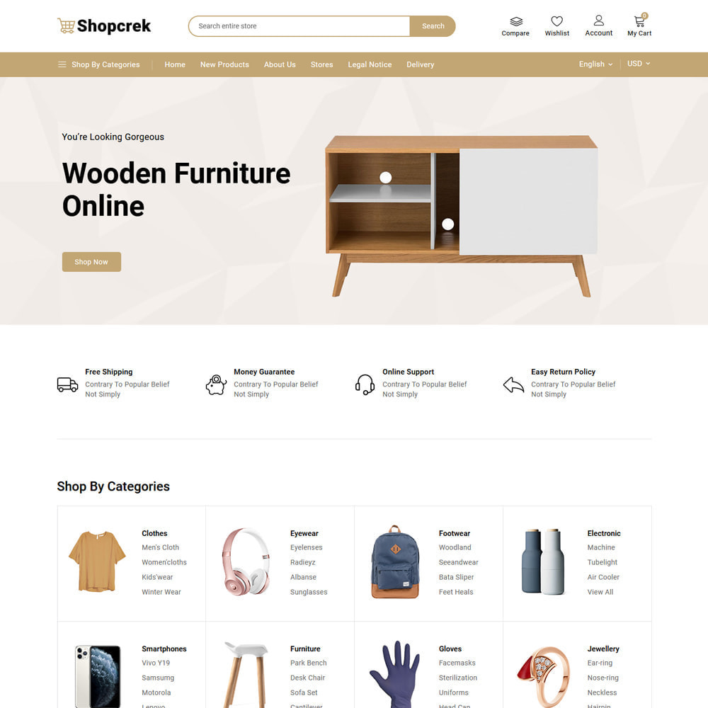 theme - Electronique & High Tech - Shopcrek Mega Store - 4