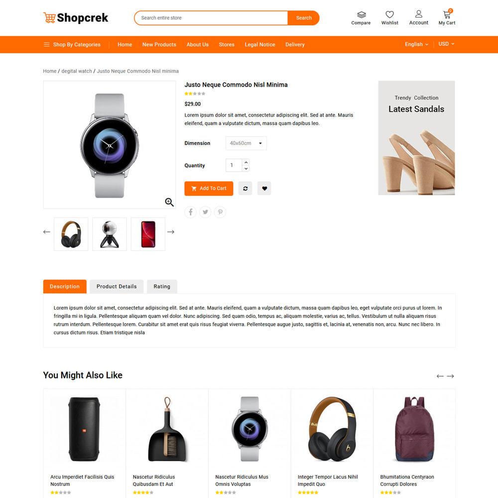 theme - Electronique & High Tech - Shopcrek Mega Store - 5