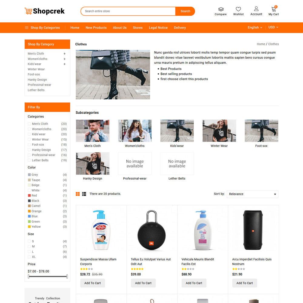 theme - Electronique & High Tech - Shopcrek Mega Store - 6