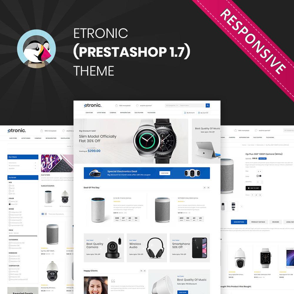 theme - Electronique & High Tech - Etronic - Le méga magasin électronique - 1