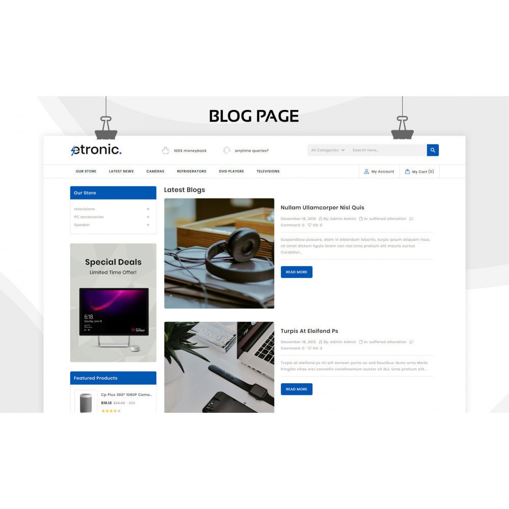 theme - Electronics & Computers - Etronic - The Mega Electronic Store - 7