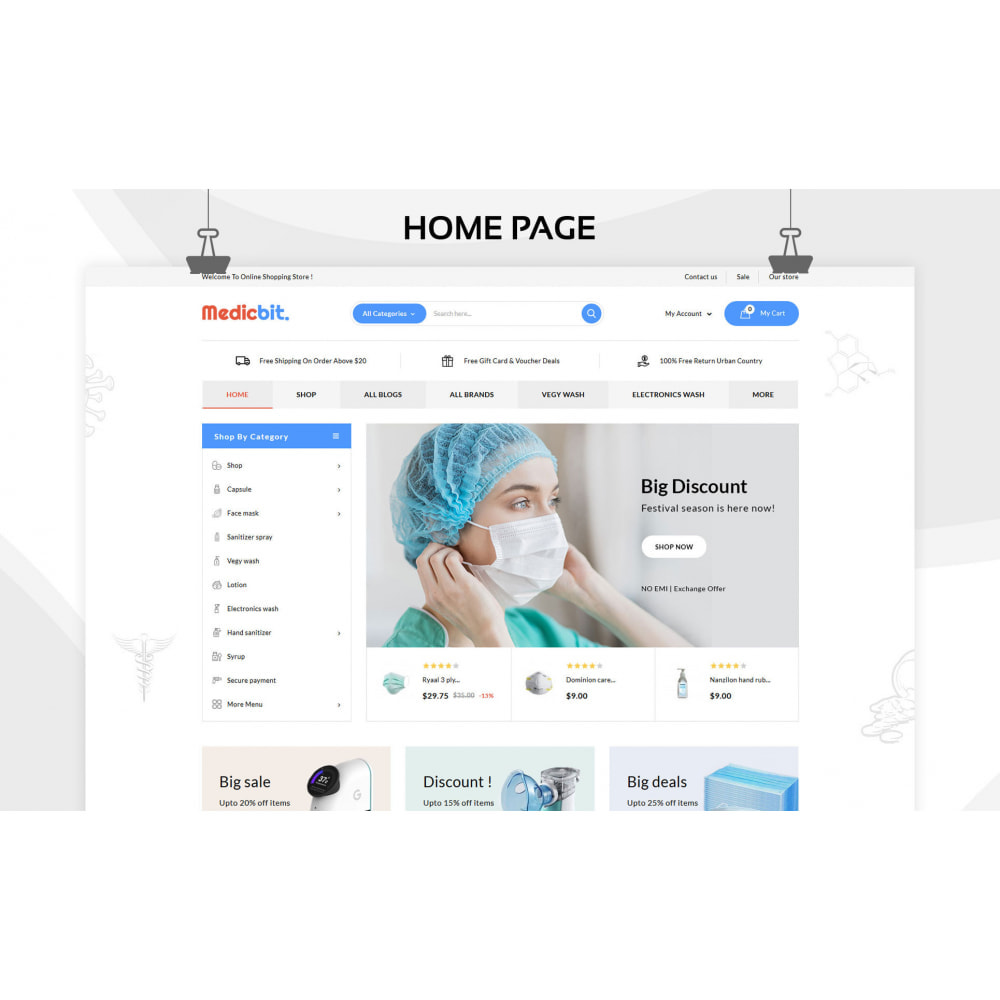 theme - Salute & Bellezza - Medicbit - Mega Medicine Store - 4