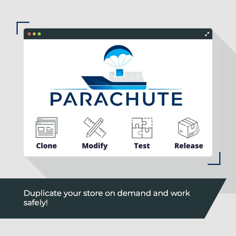 module - Инструменты администрирования - Parachute: on-demand staging environments - 1