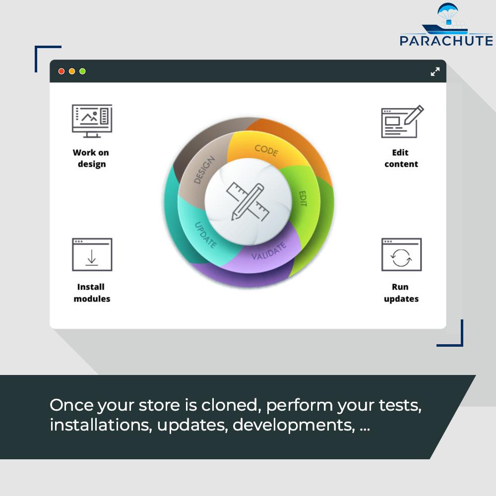 module - Инструменты администрирования - Parachute: on-demand staging environments - 3