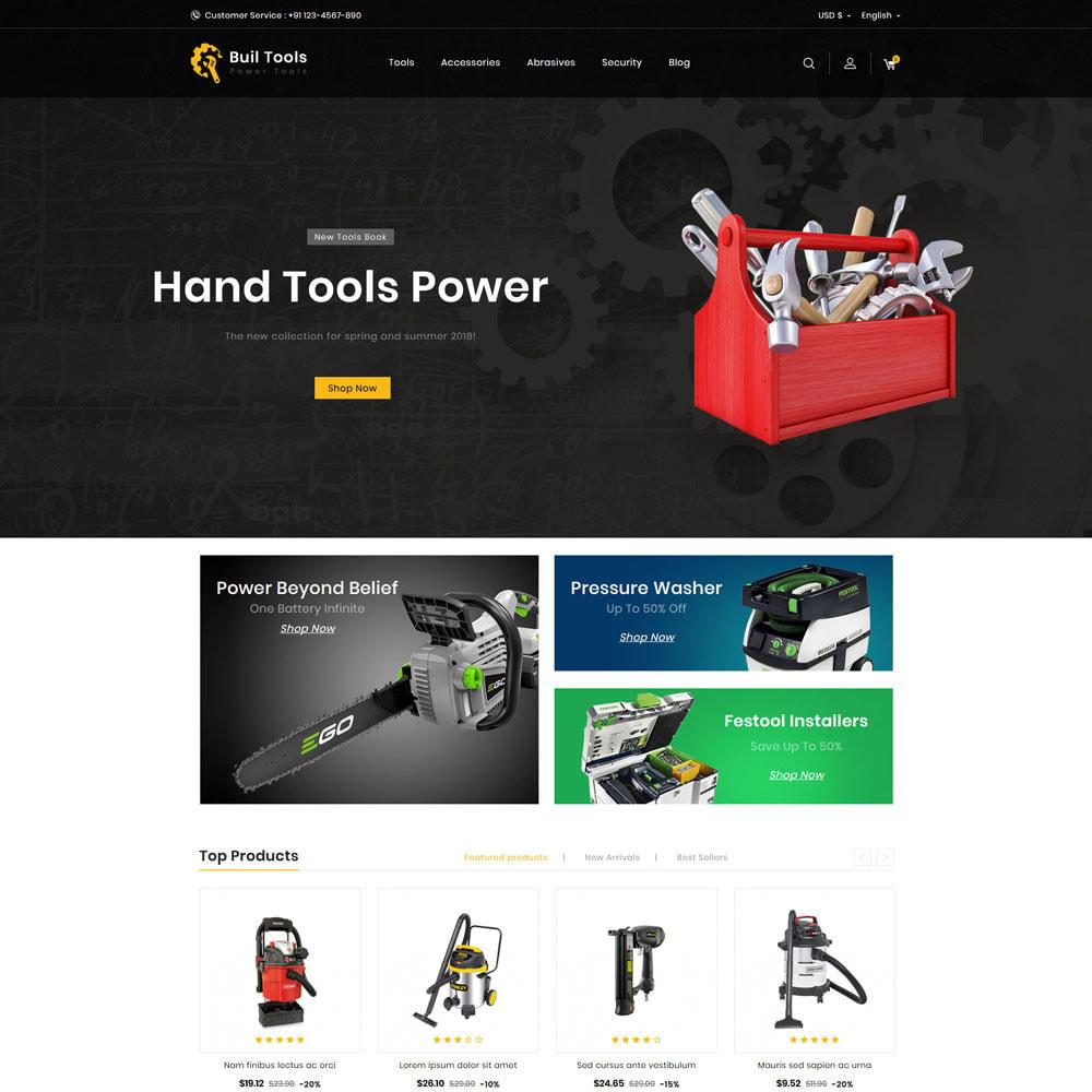 theme - Casa & Jardins - Buil - Tool Store - 1