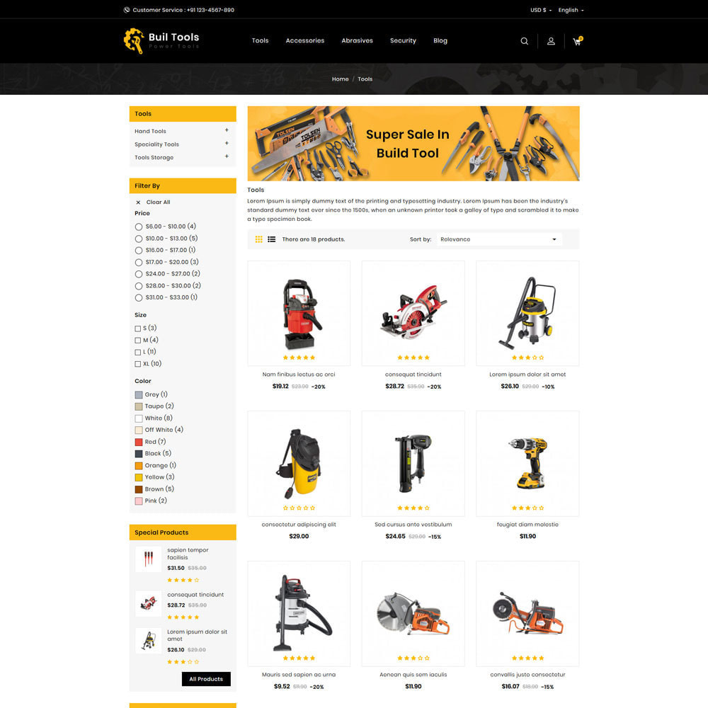 theme - Casa & Jardins - Buil - Tool Store - 3