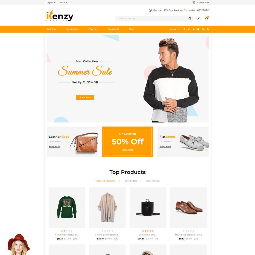 theme - Mode & Chaussures - Kenzy - Fashion Shop - 1