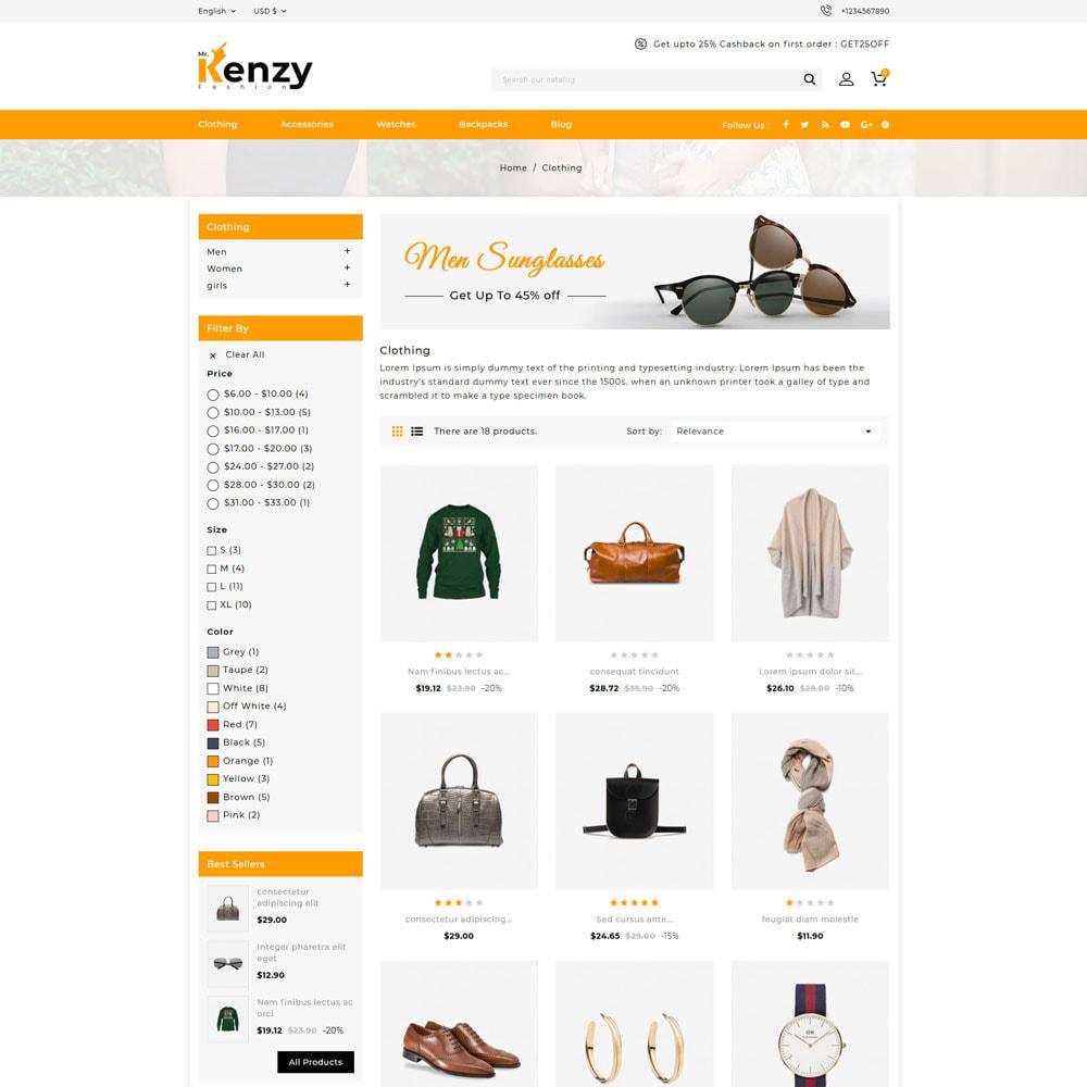 theme - Mode & Chaussures - Kenzy - Fashion Shop - 3