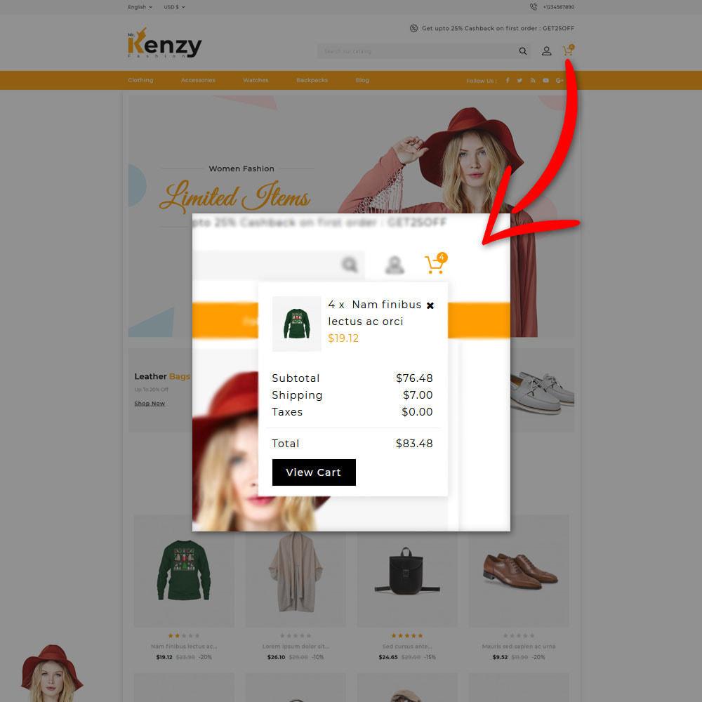 theme - Mode & Chaussures - Kenzy - Fashion Shop - 6