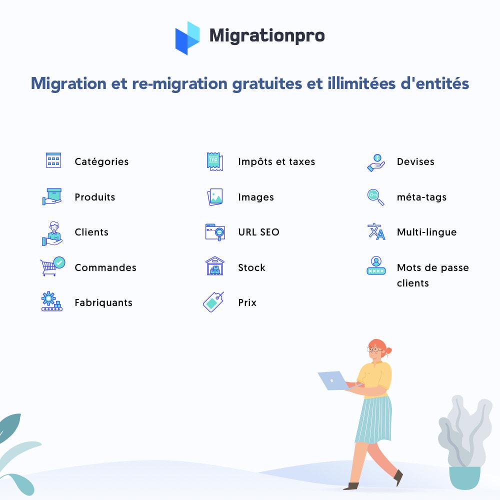 module - Migration de Données & Sauvegarde - Outil de migration OpenCart vers PrestaShop - 2