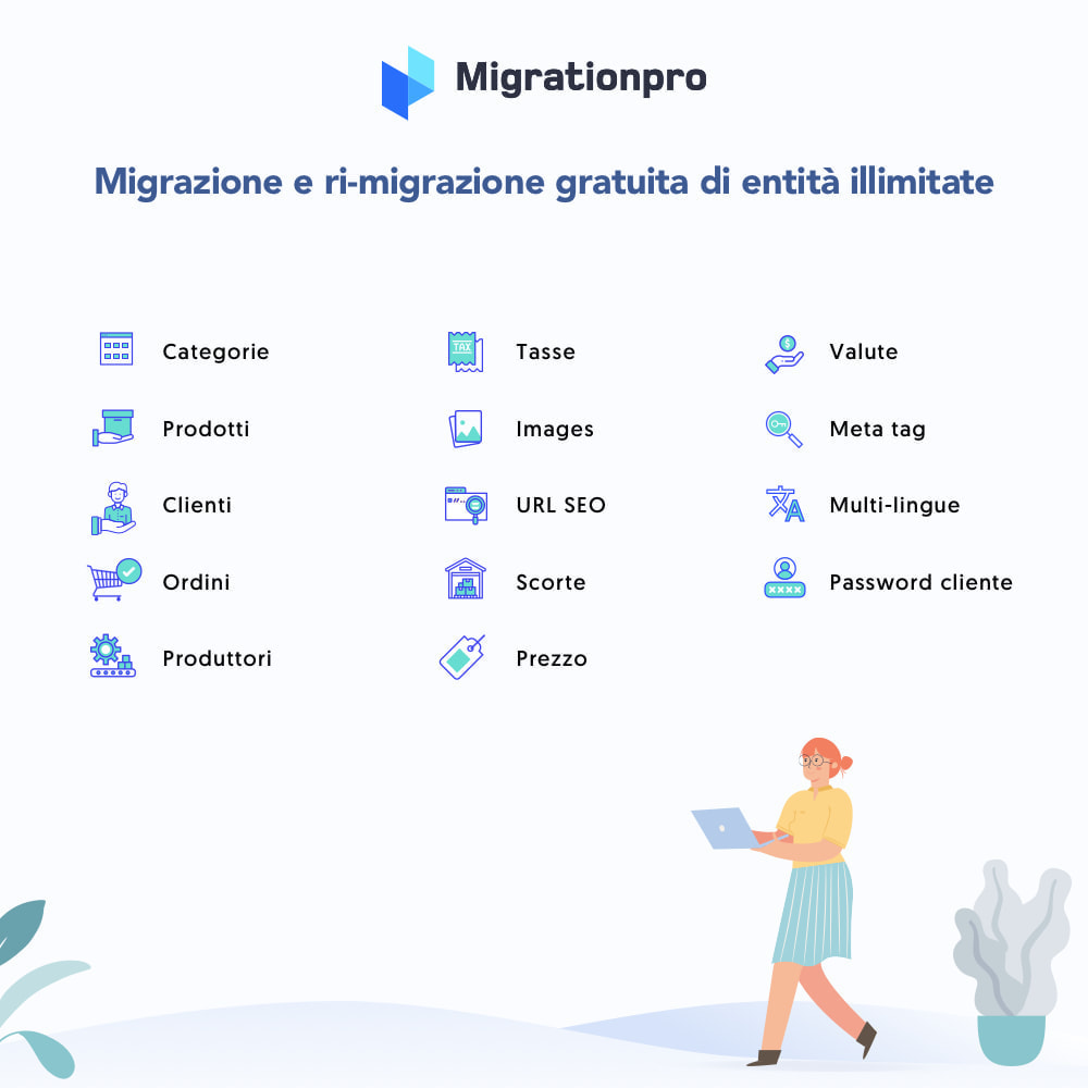 module - Data Migration & Backup - Strumento di migrazione da OpenCart a PrestaShop - 2