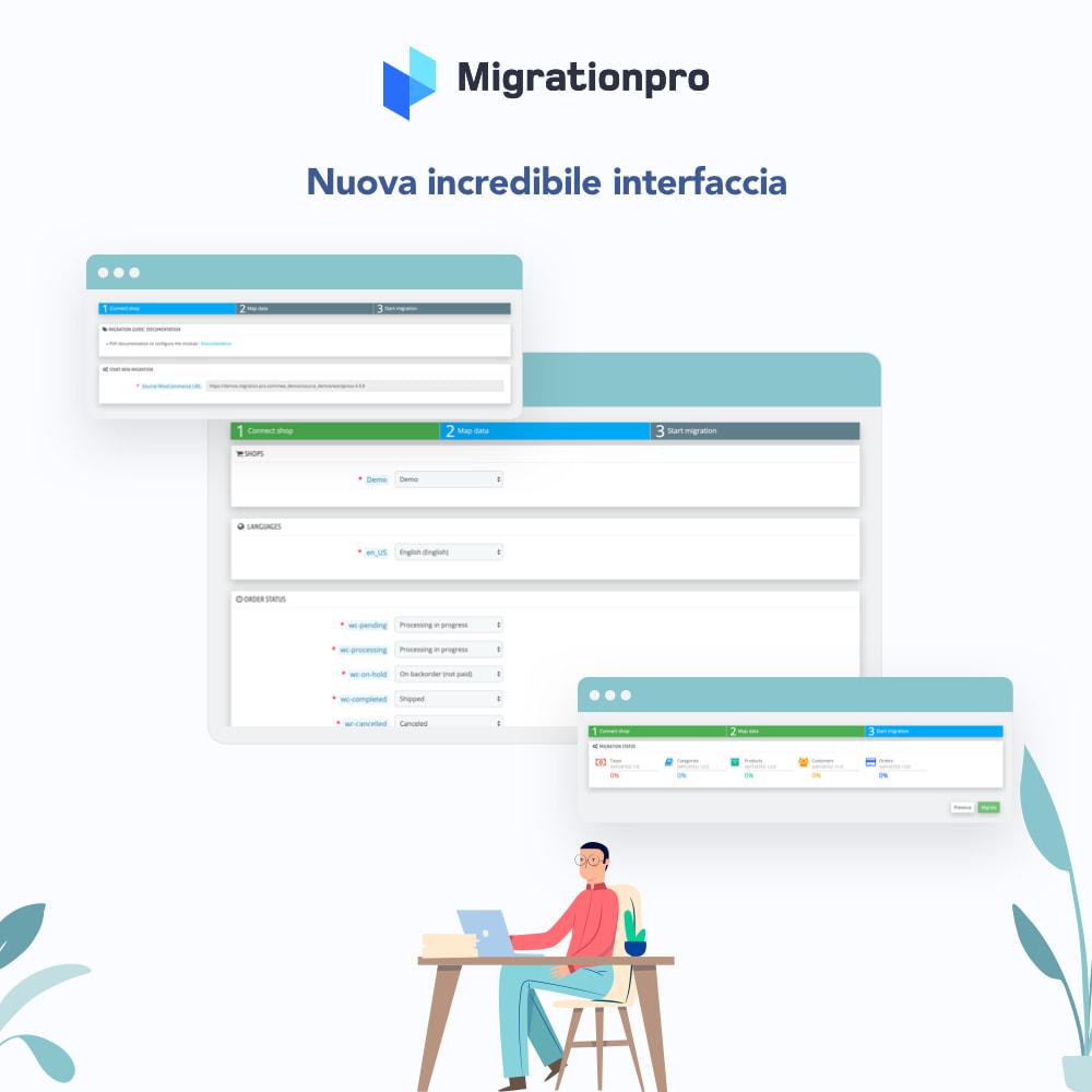 module - Data Migration & Backup - Strumento di migrazione da OpenCart a PrestaShop - 6