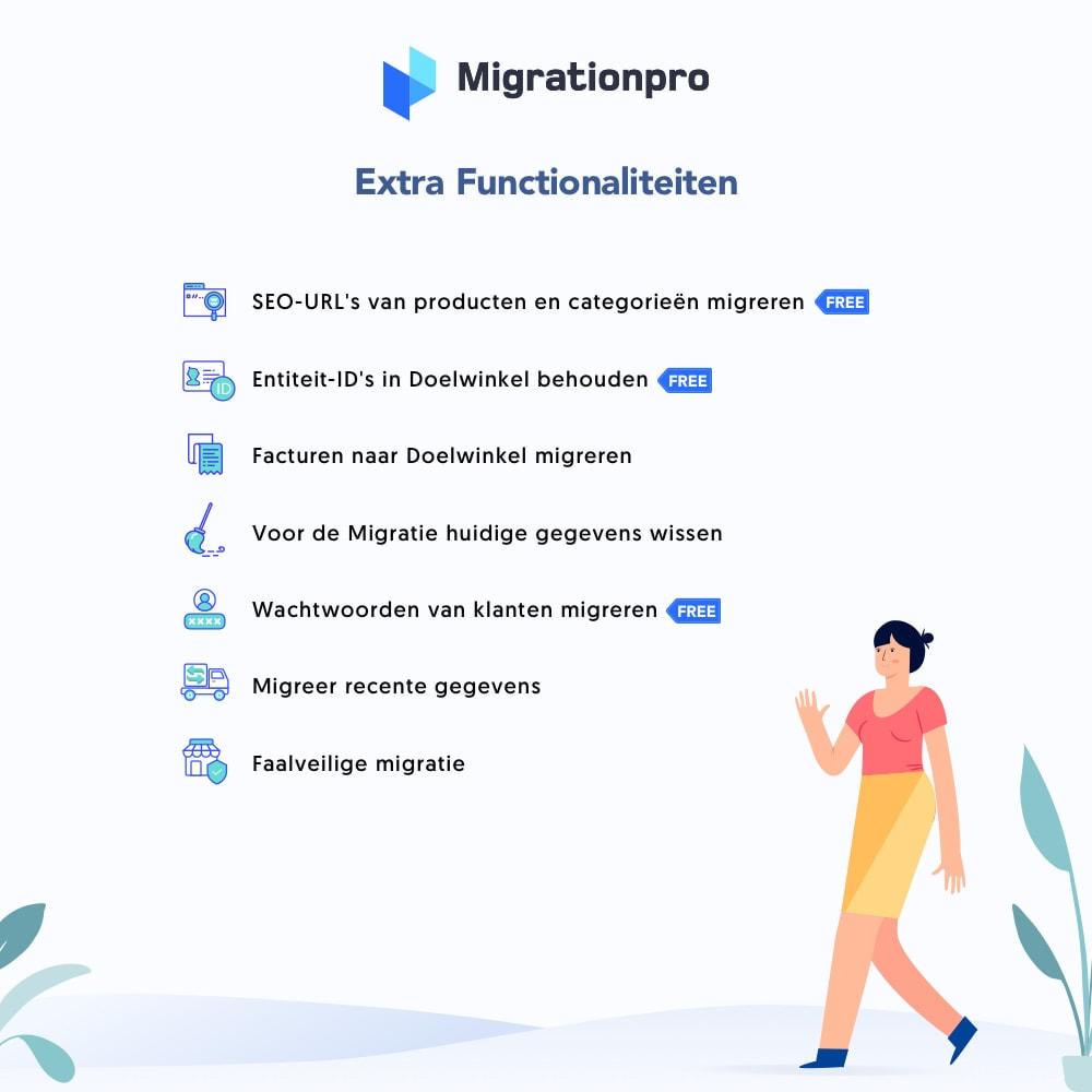 module - Migratie & Backup - OpenCart naar PrestaShop migratie tool - 5