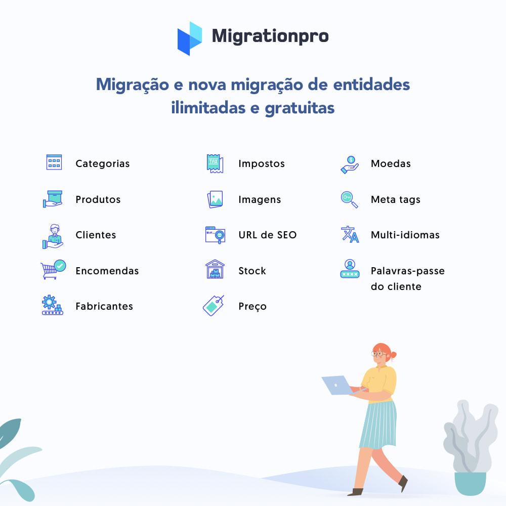 module - Migração de Dados & Registro - Ferramenta de Migração de OpenCart para PrestaShop - 2