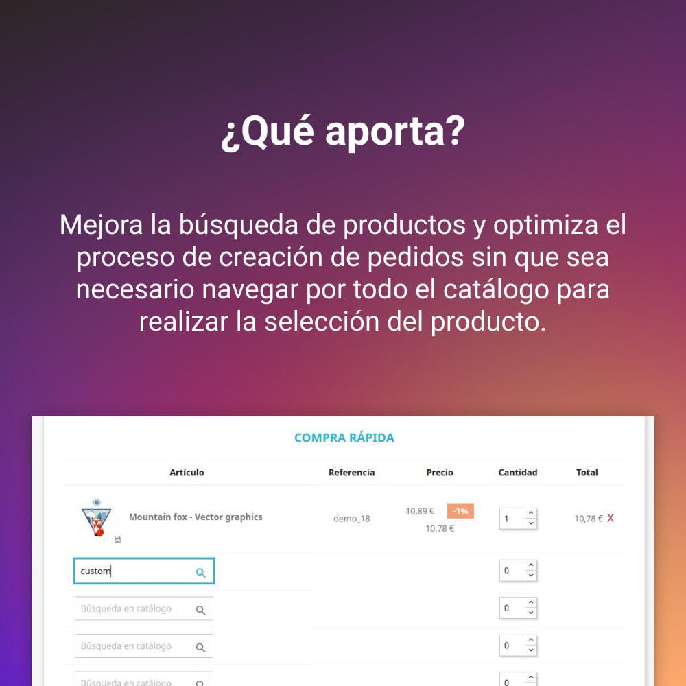 module - Proceso rápido de compra - COMPRA RAPIDA - 2