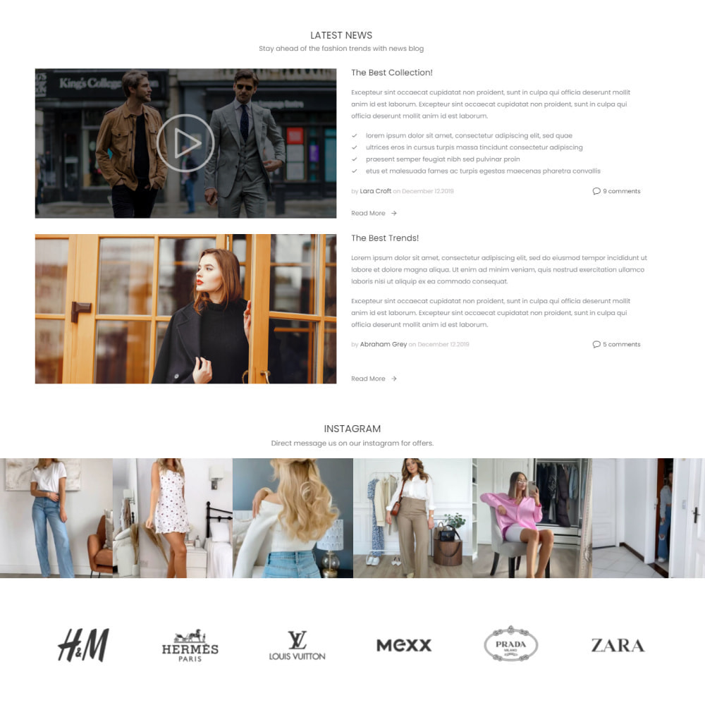 theme - Moda & Obuwie - Fashion House - Clothes & Shoes, Jewelry & Watch, Bags - 4